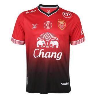 FBT เสื้อสโมสร POLICE TERO FC 2017 (แฟนคลับ) แดง - ดำ