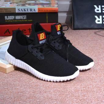 FIT รองเท้า รองเท้าผ้าใบผู้ชาย รุ่น M007 - สีดำ