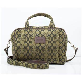 กระเป๋าสะพายพาดลำตัว 12-01-00-34450-3 Col.Brown
