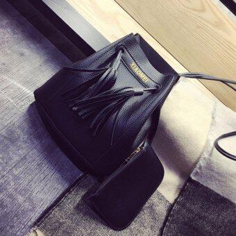 ต้องการขาย กระเป๋าสะพายข้าง กระเป๋าสะพายไหล่ กระเป๋าถือ กระเป๋ากระเป๋าผู้หญิง กระเป๋าแฟชั่น กระเป๋า Tote Bag รุ่น 153c - สีดำ