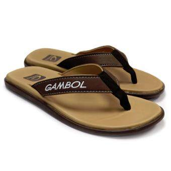 GAMBOL รองเท้าแตะ รุ่น GM11288 (สีครีม) - 2