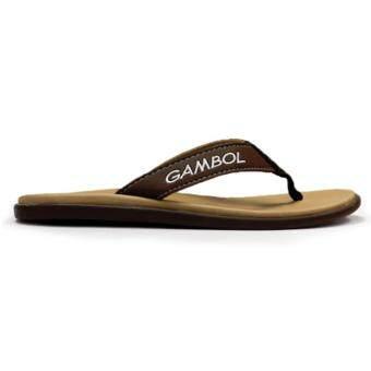 GAMBOL รองเท้าแตะ รุ่น GM11288 (สีครีม) - 3