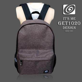 กระเป๋าเป้ กระเป๋าสะพาย แฟชั่น NR555oxford (น้ำตาล)