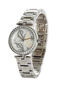 ราคา GK นาฬิกาข้อมือผู้หญิง สายสแตนเลส รุ่น GK20430 - สีเงิน