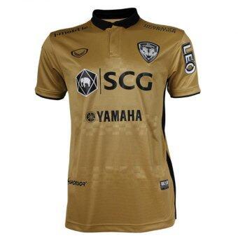 Grand sport เสื้อฟุตบอลสโมสร เอสซีจี เมืองทอง 2016 (สีทอง)