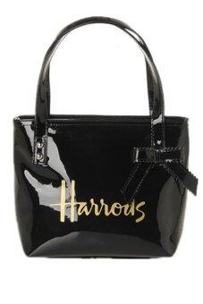 Harga Harrods Large Tote Bag With Zip