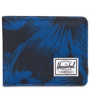 Herschel Supply Co Roy Jungle Floral Blue Bifold Wallet