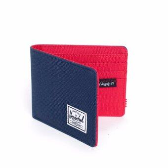 Herschel Supply - Roy wallet Navy/Red