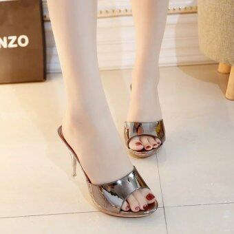 Hot Sale!!! Sexy Shoes Women Summer Fashion High Heel Sandals WomenSlippers Ladies Shoes Size 35-39 - intl