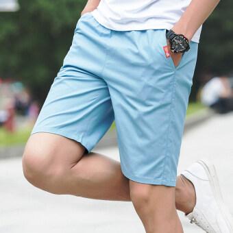 I ในช่วงฤดูร้อนของผู้ชายกางเกงขาสั้น (ท้องฟ้าสีฟ้า)
