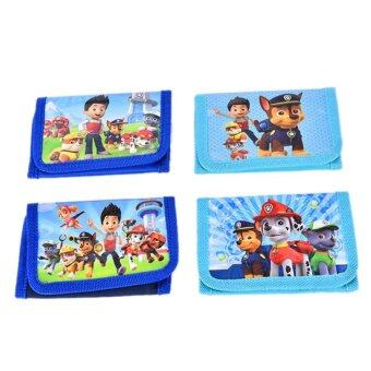 Harga Fashion Kids Children Boy Girl Paw Patrol Doll Figures Purse Wallet Pouch Toy Gift - intl