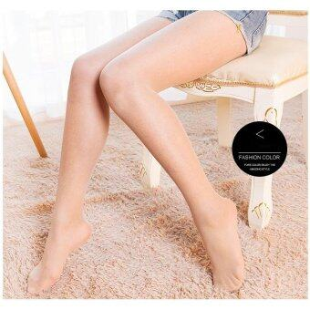 Harga Women's Control Top All Sheer Toe Silk Stockings Tights Panty Hose - Light Nude - intl