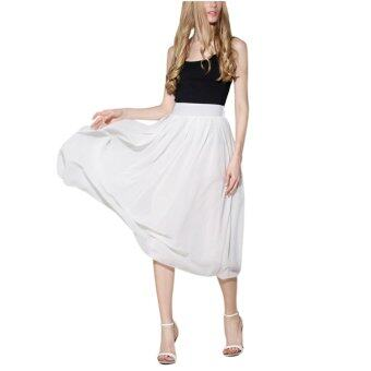 Harga Cute Women Maxi Skirt Dress - intl