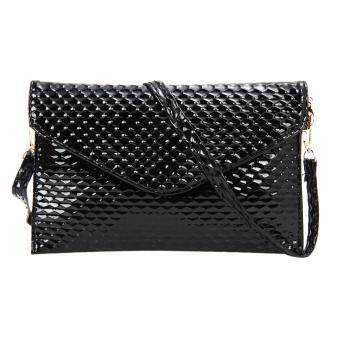 Harga Lady Clutch Wallet Black - INTL