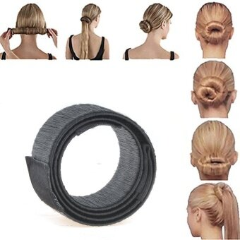 Harga 2pcs Bun Maker DIY Women Girls Perfect Hair Bun Making Styling French Twist Donut Bun Hairstyle Tool - intl