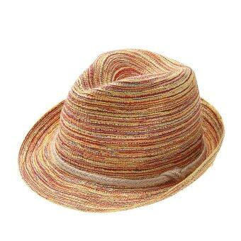 Harga Lady European Fashion Sun Block Seaside Sunhat - intl