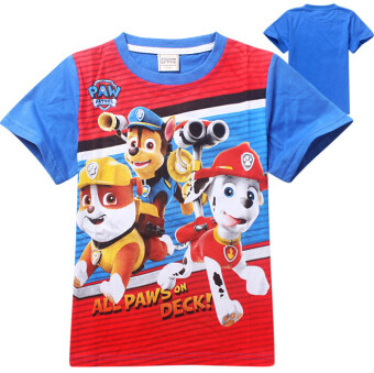 Harga Cartoon Cute Paw Patrol Baby Kids Boys Summer T-shirt Blouse 3-7Y - Intl - Intl