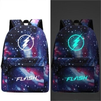 Harga Travel Glow in the Dark Night Light School Bag Starry Sky Luminous Backpack(Lighting) - intl