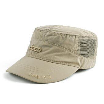 Harga JEEP quick dry hat hat cap for men and women outdoor sunshade sports sun hat - intl