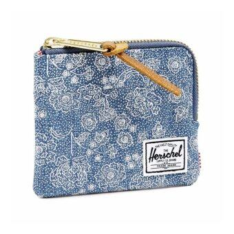 Harga Herschel Supply Johnny Wallet - Floral Chambray