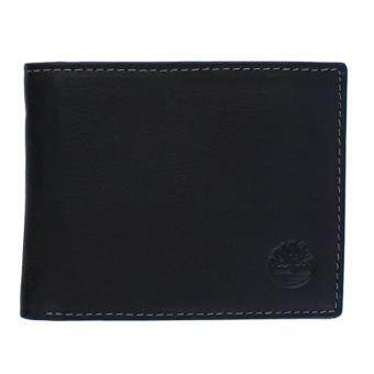 Harga Timberland Men's Exclusive Fine Blix Leather Bifold Passcase Wallet - intl