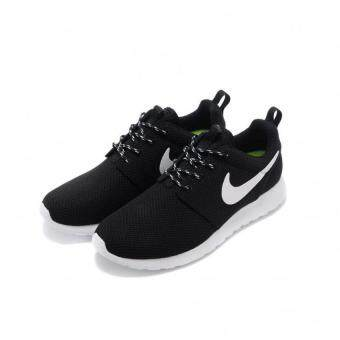 Harga NIKE ROSHE ONE MEN BLACK WHITE - intl