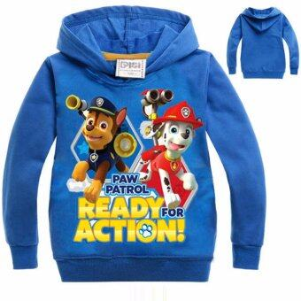Harga Hanyu Paw Patrol Kids Children Sweater Shirt Long Sleeve Sweater Pullover Blue - intl