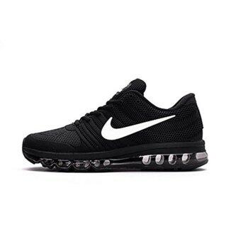 Harga Nike's Men's Air Max 2017 Running Shoe New Collection Black - intl