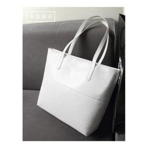 Harga New Fashion Handbag Bag Lady Single Shoulder Bag - White - intl