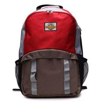 Harga DISCOVERY กระเป๋าเป้สะพายหลัง Notebook iPad Backpack DR 1836 Red(Int: One size)