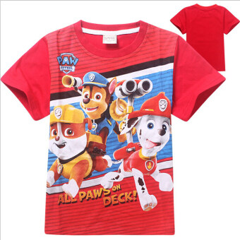Harga Cartoon Cute Paw Patrol Baby Kids Girls Summer T-shirt Blouse 3-7Y - Intl - Intl