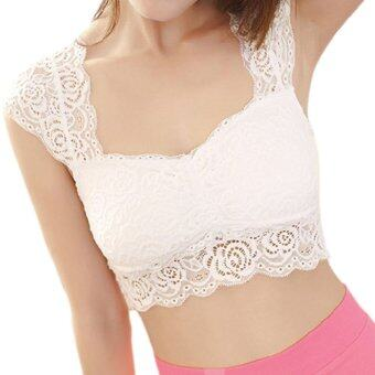 Harga Amart Fashion Women Sexy Lace Falsies Render Vest Bra