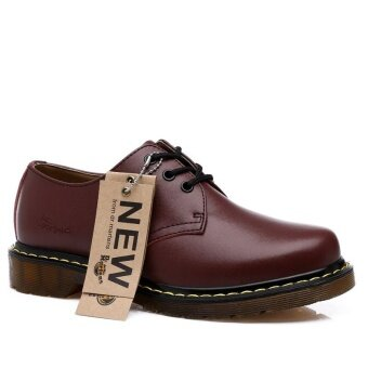 Ishoes Fashion Shoes for Men and Women Unisex Lace Up GenuineLeather Shoes - intl