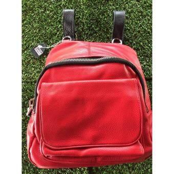 Jaifa กระเป๋าเป้สะพายหลัง สไตล์เกาหลี รุ่น JP001 (สีแดง)