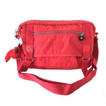 รีวิวพันทิป Kipling กระเป๋าสะพาย รุ่น hb6260 สี 623 cayenne สีแดง