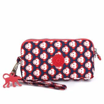 Harga Klpllng Fashion Women's Canvas Wallet(Red) - intl