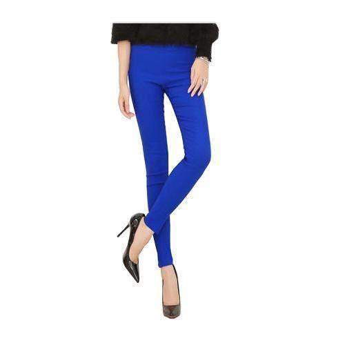 ขาย กางเกง เลคกิ้ง สกินนี่ ไซต์ L-4XL สีน้ำเงิน # legging02