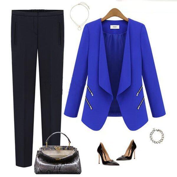 Ladies Career OL Slim Zip Coats