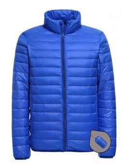Lanbaosi Men's Ultralight Packable Puffer Jacket Water RepellentDown Coat - intl