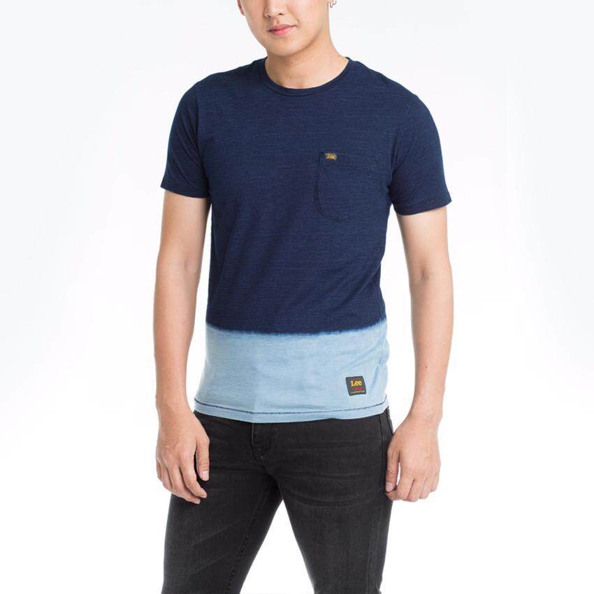 ข้อมูล เสื้อยืดคอกลมแขนสั้น รุ่น LE 17001013 สี INDIG0 เปรียบเทียบราคา