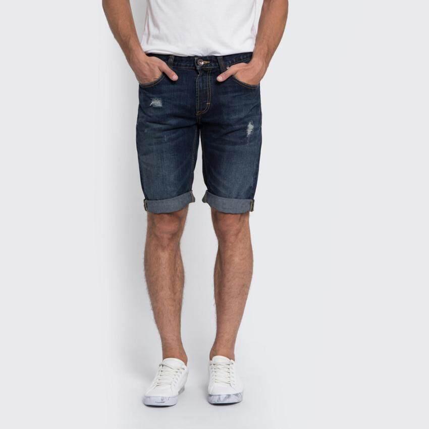 มาใหม่ กางเกงยีนส์ขาสั้น รุ่น LE 17011003 สี INDIG0 แนะนำ