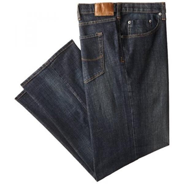 รีวิว Lee Mens Big-Tall Modern Series Custom Fit Relaxed Straight Leg Jean, Storm Rider, 46W x 30L - intl รีวิวสินค้า