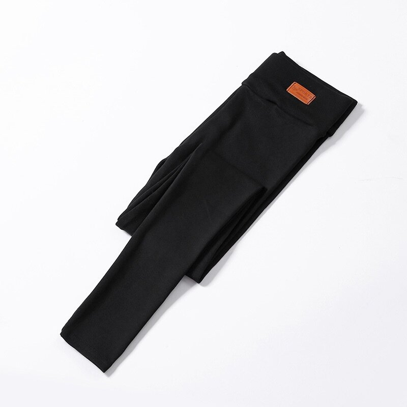 Leggings Pants / Women / Thin Section / Elasticity / Nine Points Pants--black - intl