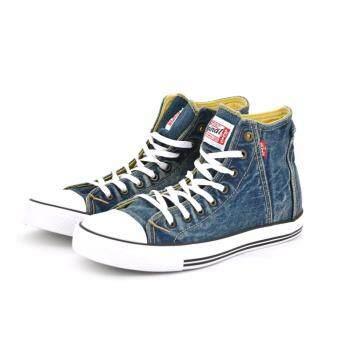 LEVI'S รองเท้าผู้ชาย ผ้าใบ LEVI'S สีน้ำเงิน รหัส 8099782