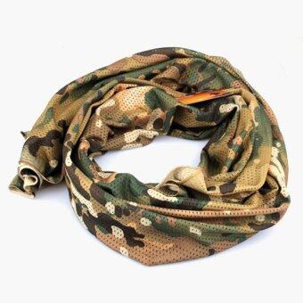 Lightweight Soft Camouflage Military Scarf - intl