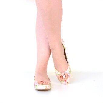 MARIE CLAIRE รองเท้าแฟชั่น ผู้หญิง ส้นแบน BALLERINA/CASUAL สีชมพู รหัส 5595692