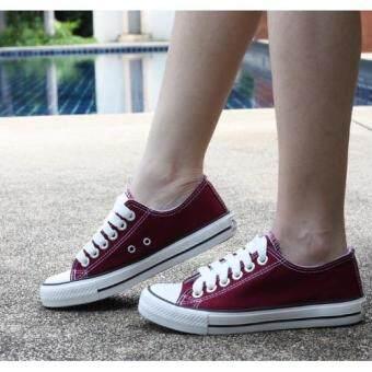 Marino รองเท้าผ้าใบผู้หญิง รุ่น A001 - สีเลือดนก (image 1)