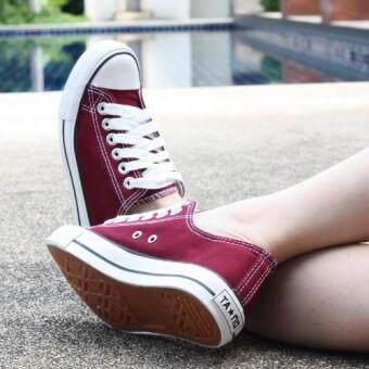Marino รองเท้าผ้าใบผู้หญิง รุ่น A001 - สีเลือดนก (image 3)