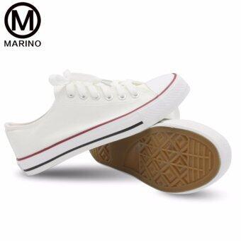 Marino รองเท้าผ้าใบผู้หญิง รุ่น A001 - สีขาว (image 2)