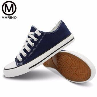 Marino รองเท้าผ้าใบผู้หญิง รุ่น A001 - สีน้ำเงิน (image 2)